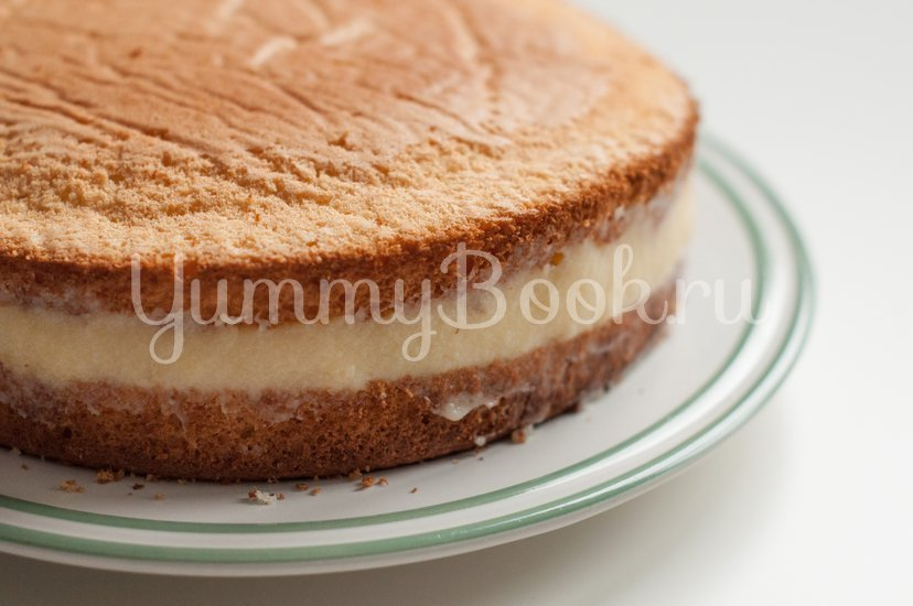 Бостонский кремовый торт - шаг 11