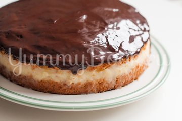Бостонский кремовый торт - шаг 13