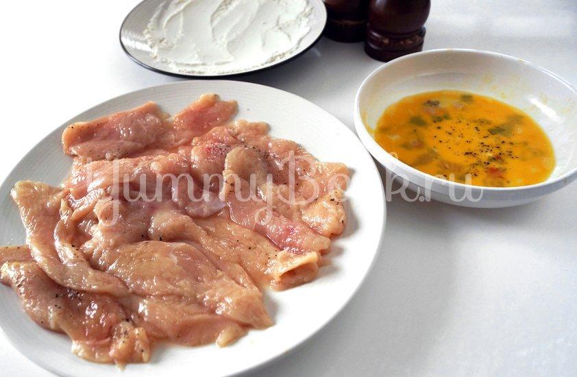 Отбивные из куриного филе - шаг 2