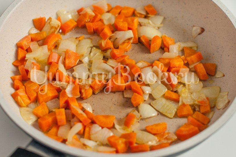 Тыквенный суп-пюре с сыром - шаг 1