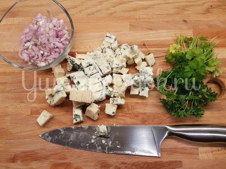 Мидии в сырном соусе - шаг 2