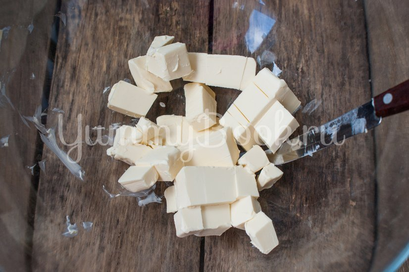 Галетное печенье с тыквой - шаг 1