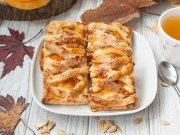 Галетное печенье с тыквой