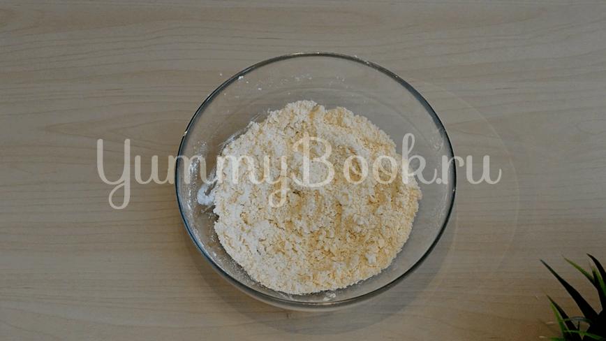 Хрустящие сырные крекеры с кунжутом - шаг 1