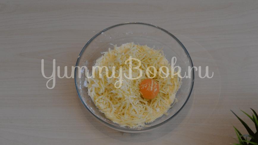 Хрустящие сырные крекеры с кунжутом - шаг 2