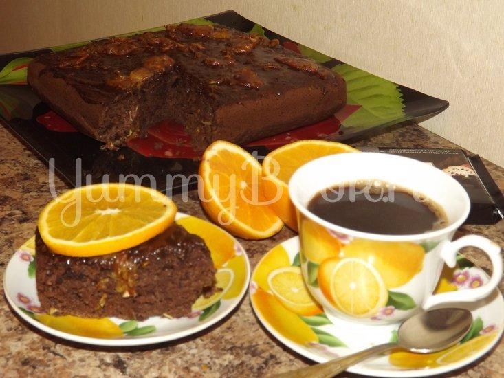 Шоколадный кекс на кислом молоке - шаг 8