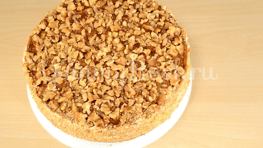 Торт Медовик из двух коржей - шаг 6