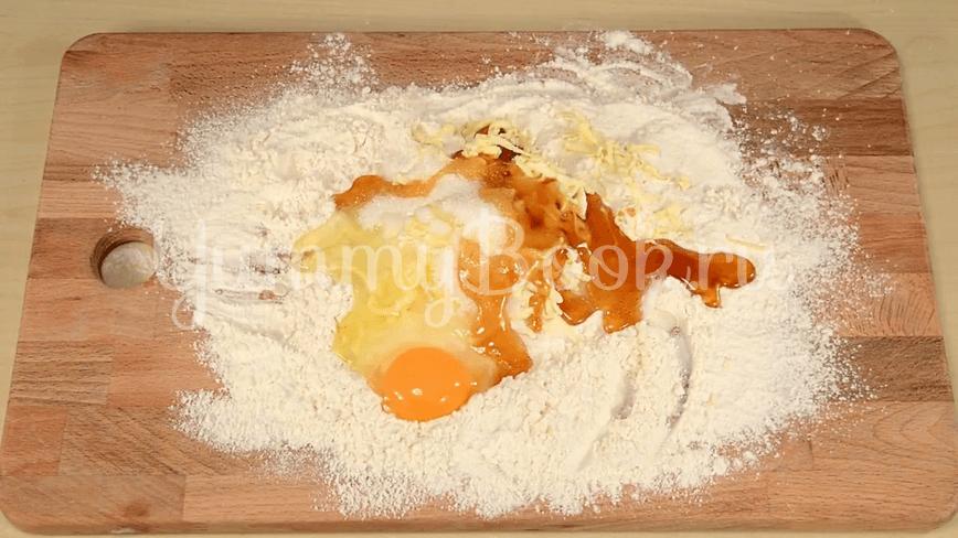 Торт Медовик из двух коржей - шаг 1