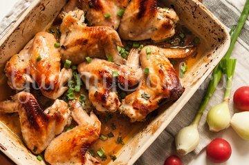 Куриные крылышки, запеченные в духовке - шаг 4