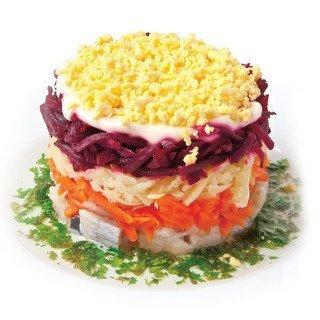 Вкусные и простые праздничные салаты