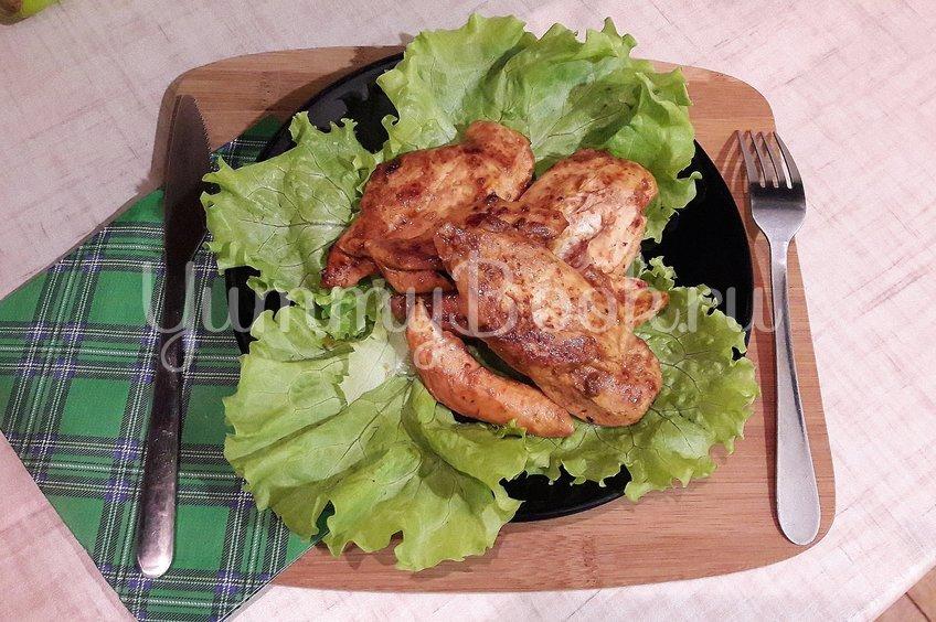 Куриное филе в пряном маринаде
