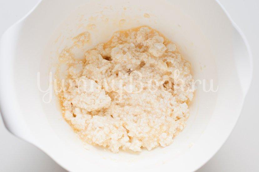 Ленивые вареники с кукурузной мукой - шаг 2