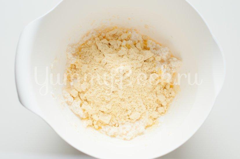 Ленивые вареники с кукурузной мукой - шаг 3