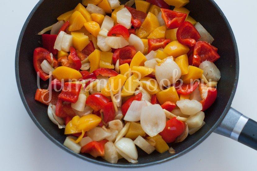 Курица в кисло-сладком соусе с овощами - шаг 7