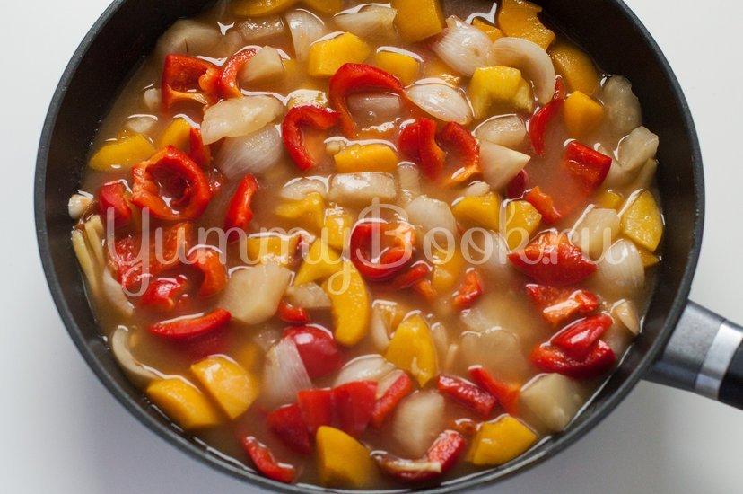 Курица в кисло-сладком соусе с овощами - шаг 8