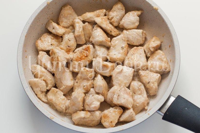 Курица в кисло-сладком соусе с овощами - шаг 10