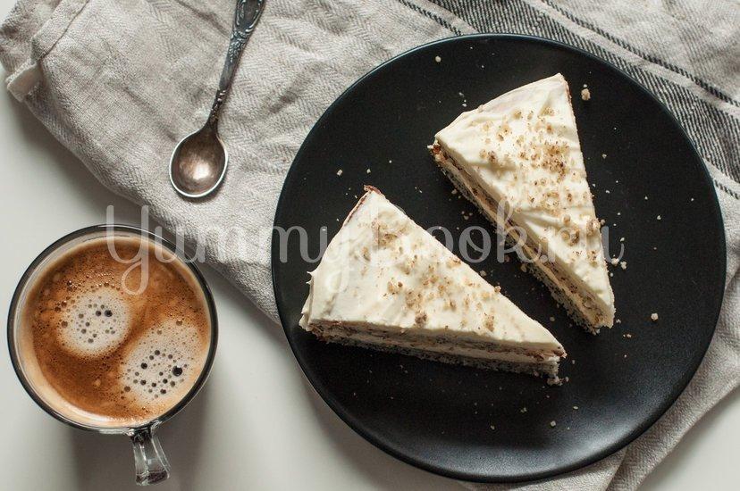 Маково-ореховый торт со сметанным кремом - шаг 12