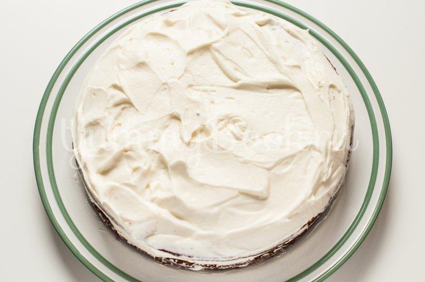 Маково-ореховый торт со сметанным кремом - шаг 11