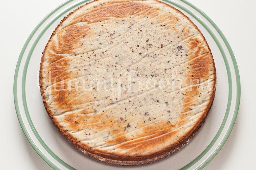 Маково-ореховый торт со сметанным кремом - шаг 10