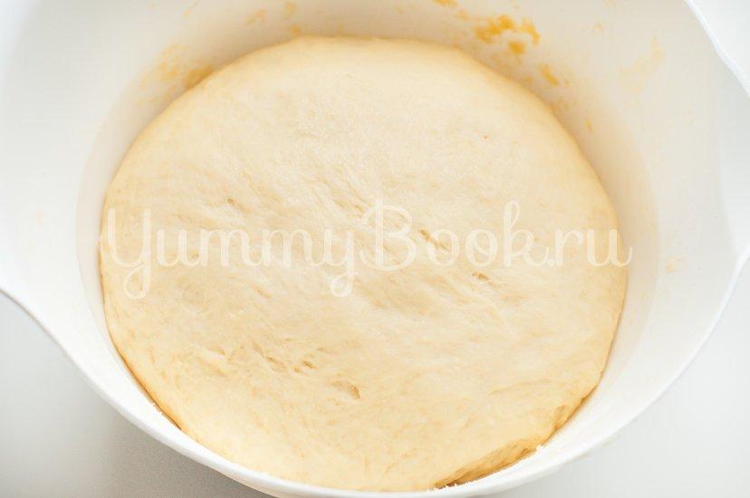 Итальянские булочки Данубио с сыром и ветчиной - шаг 6
