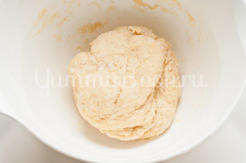 Итальянские булочки Данубио с сыром и ветчиной - шаг 3