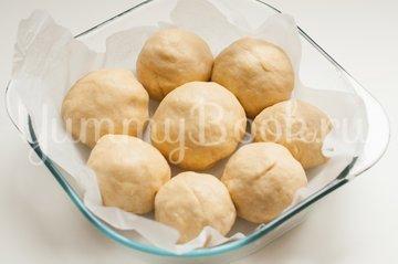 Итальянские булочки Данубио с сыром и ветчиной - шаг 10