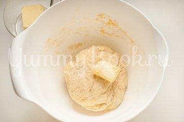 Итальянские булочки Данубио с сыром и ветчиной - шаг 4