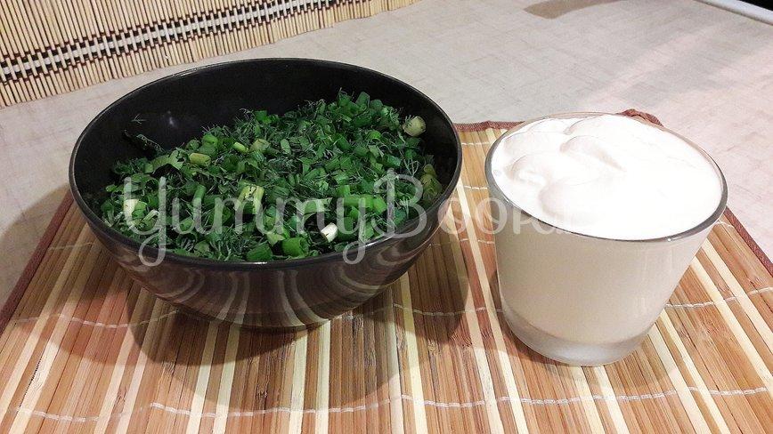 Курино-овощная сметанная подлива  - шаг 8