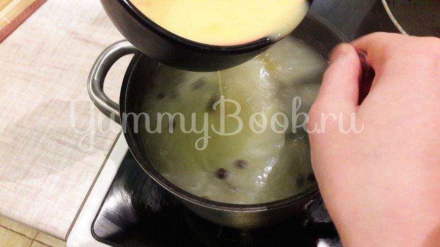 """Согревающий бульон с яичной """"паутинкой"""" - шаг 7"""