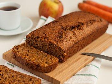 Морковно-ореховый кекс от Пьера Эрме