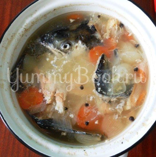 Рыбный суп с пшеном - шаг 7