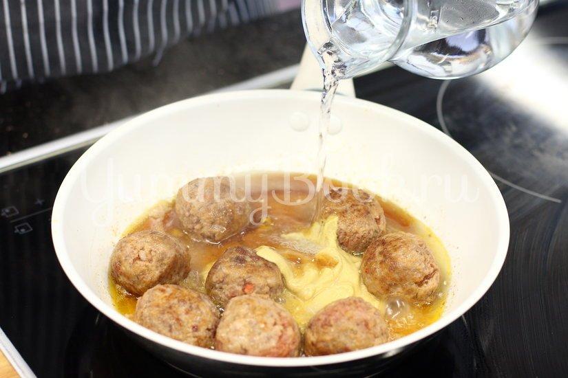 Фрикадельки в горчично-медовом соусе - шаг 3
