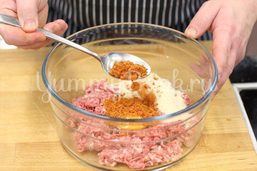 Фрикадельки в горчично-медовом соусе - шаг 1