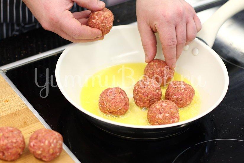 Фрикадельки в горчично-медовом соусе - шаг 2