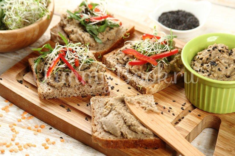 Чечевичная паста (намазка на бутерброды) - шаг 5