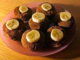 Пирожное картошка с нутовой мукой
