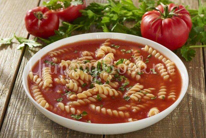 Томатный суп с макаронами (Zupa pomidorowa) - шаг 3