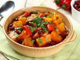 Овощное рагу по-мексикански