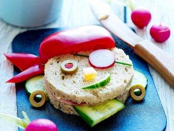 """Детский бутерброд """"Пират"""""""