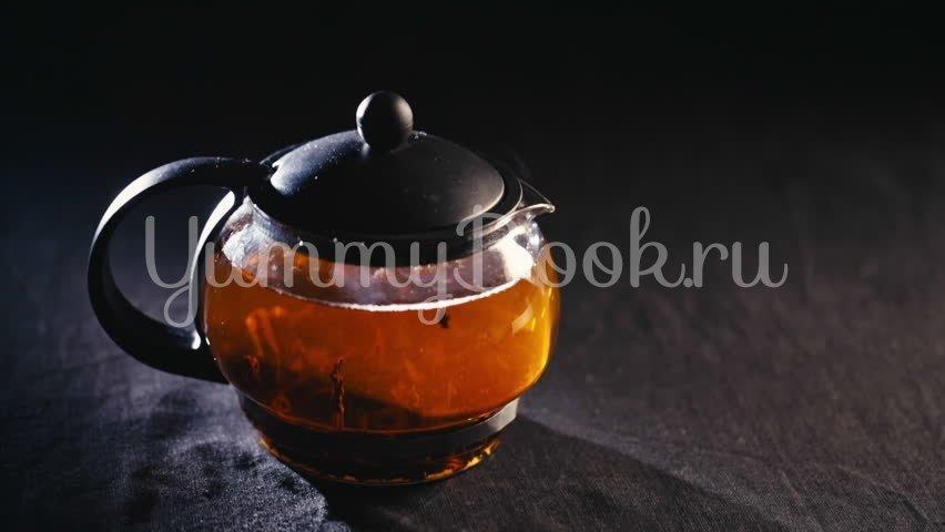 Согревающий чай с липой и имбирем - шаг 1
