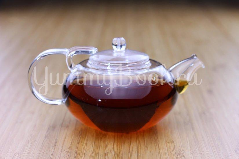 Согревающий чай с малиной и апельсинами - шаг 1