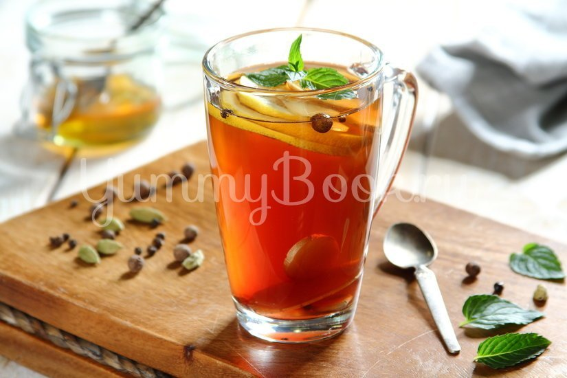 Согревающий мятный чай с пряностями - шаг 2