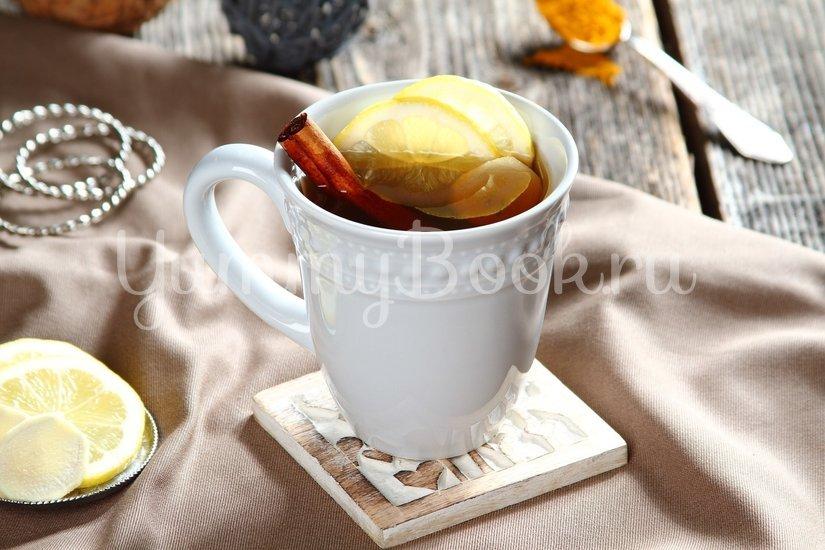 Согревающий чай с куркумой и имбирем - шаг 2