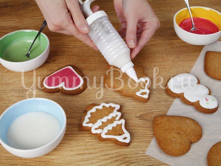 Пряные рождественские печеньки - шаг 6