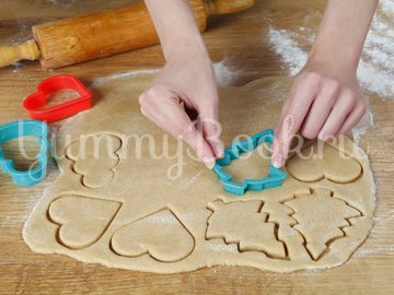 Пряные рождественские печеньки - шаг 4