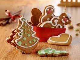 Пряные рождественские печеньки