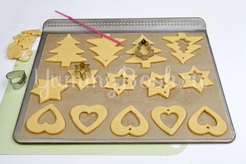 Песочное печенье с витражами - шаг 4