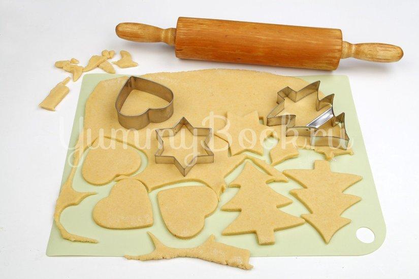 Песочное печенье с витражами - шаг 3