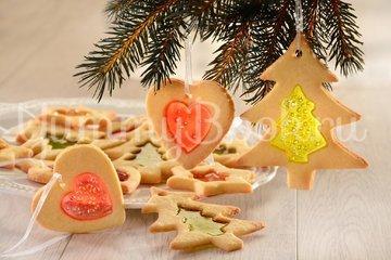 Песочное печенье с витражами - шаг 6