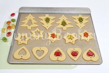 Песочное печенье с витражами - шаг 5
